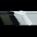 Rod Holder - Rectangle 30deg Black or White