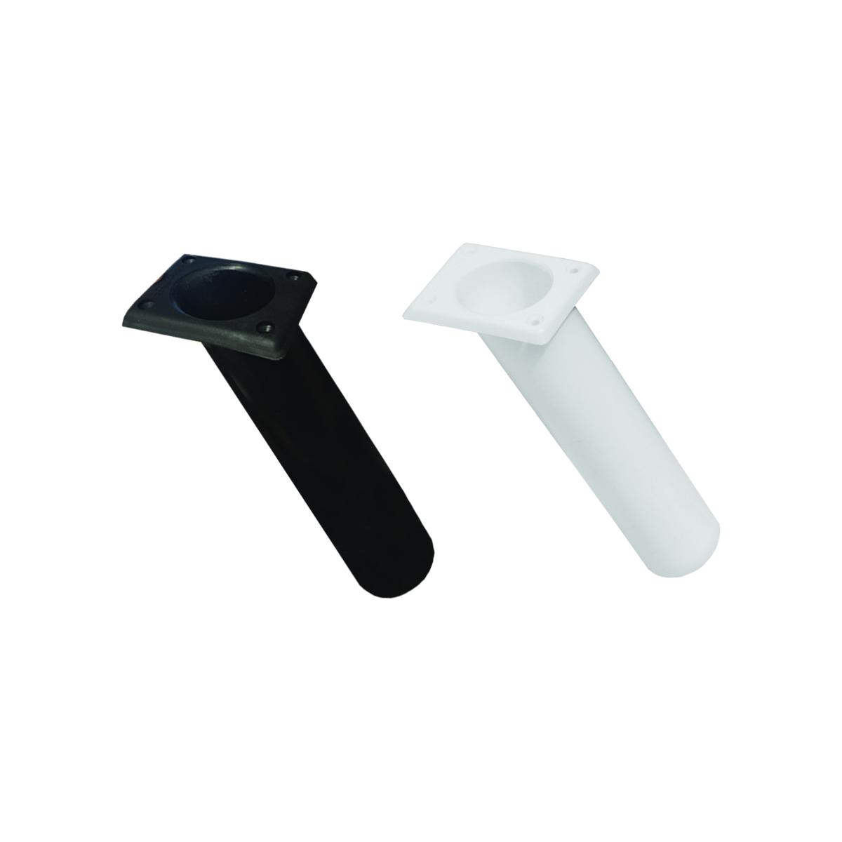 Rod Holder - Rectangle 30deg Black or White