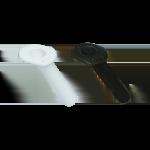 Rod Holder - Oval 30deg White or Black