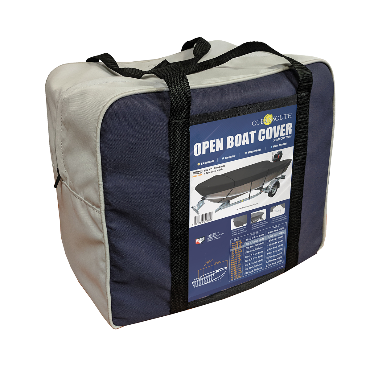 Open Boat Cover Bag