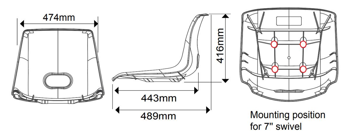 C Seats Dimensions
