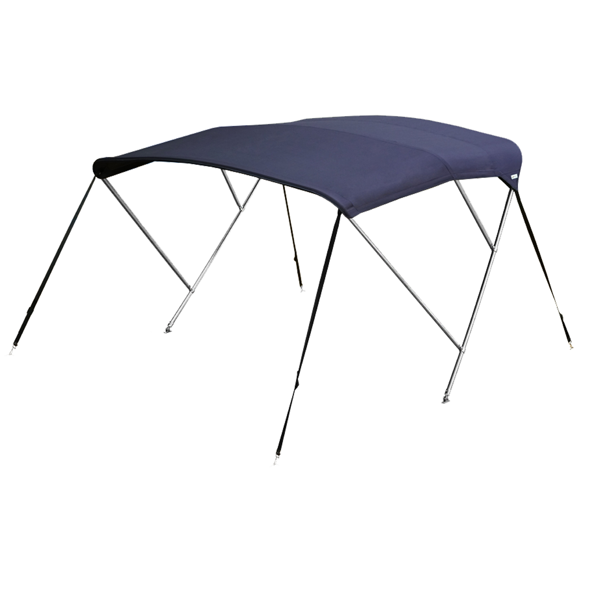 Stainless Steel 3 Bow Bimini Top Blue
