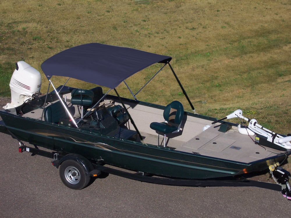 Stainless Steel 3 Bow Bimini Top Lifestyle
