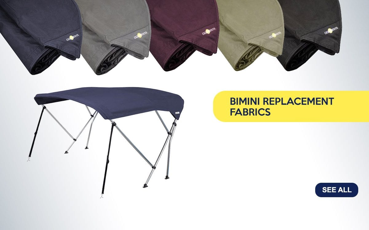 Aluminium Bimini Replacement Fabrics