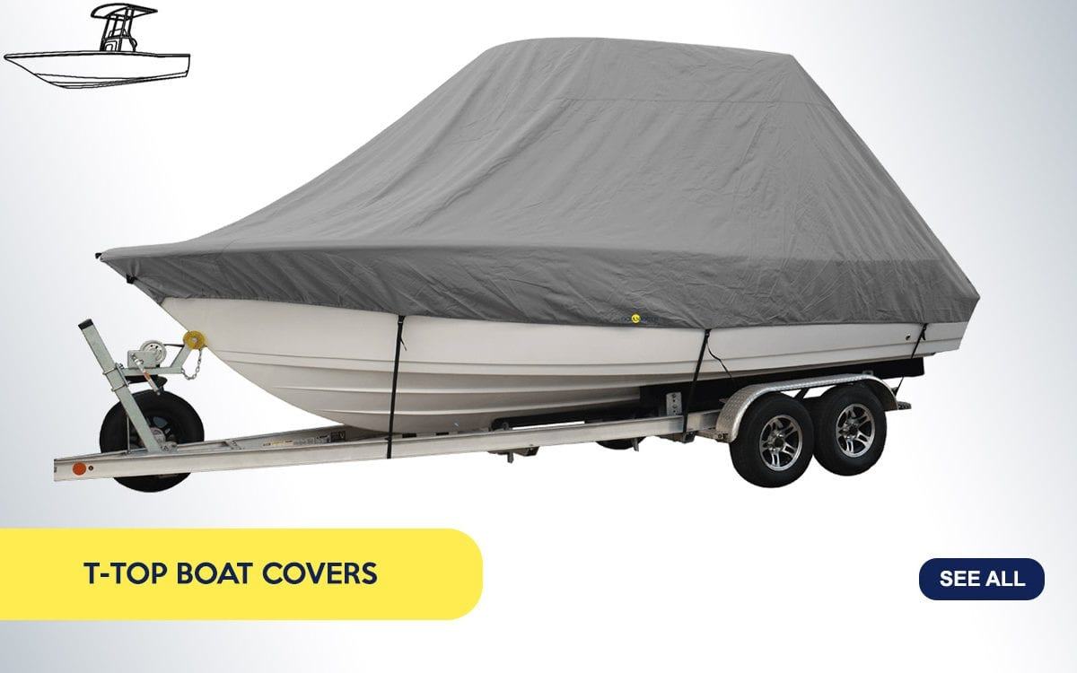 Boat T-Top Covers